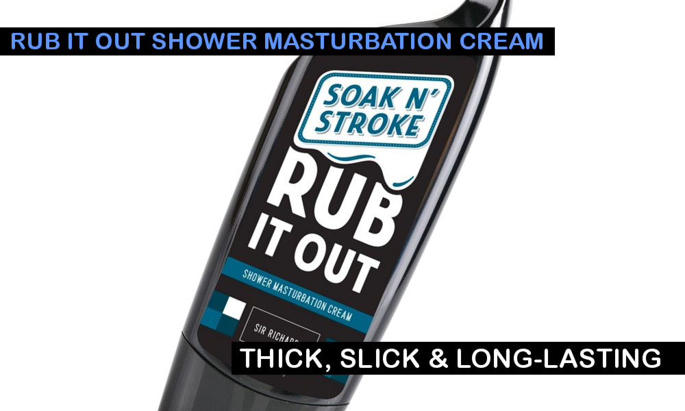 rub it out masturbation cream
