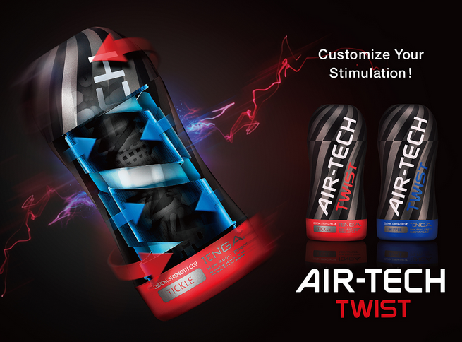 Tenga Air-Tech Twist masturbators