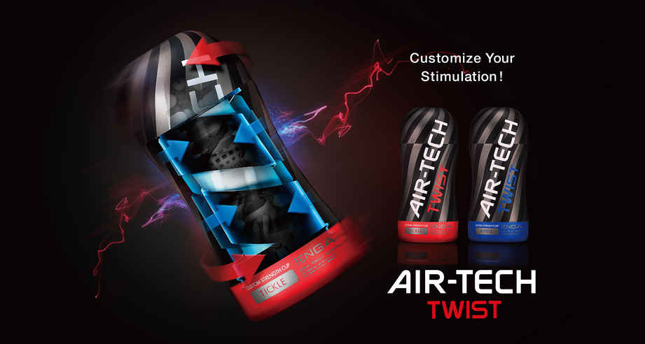 TENGA Air-Tech Twist masturbators at bloketoys