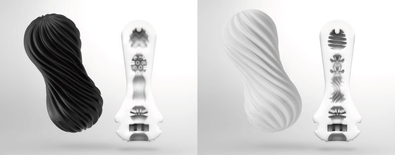 TENGA Flex will be available in Rocky Black and Silky White