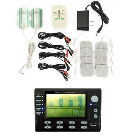 Electro power box set with LCD display