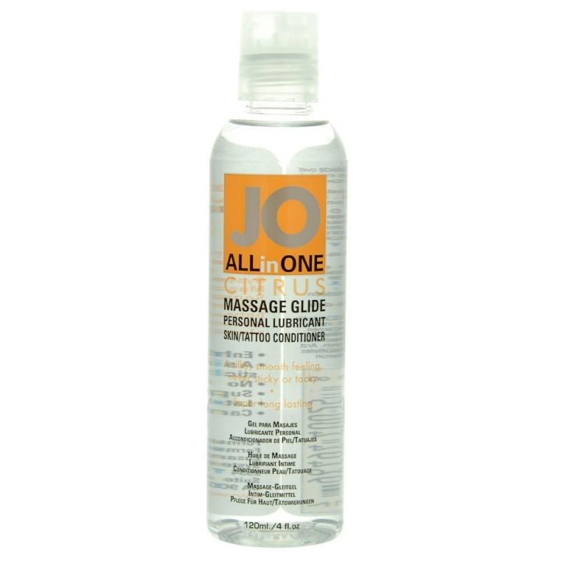 System Jo Massage Oil Citrus 4.5oz
