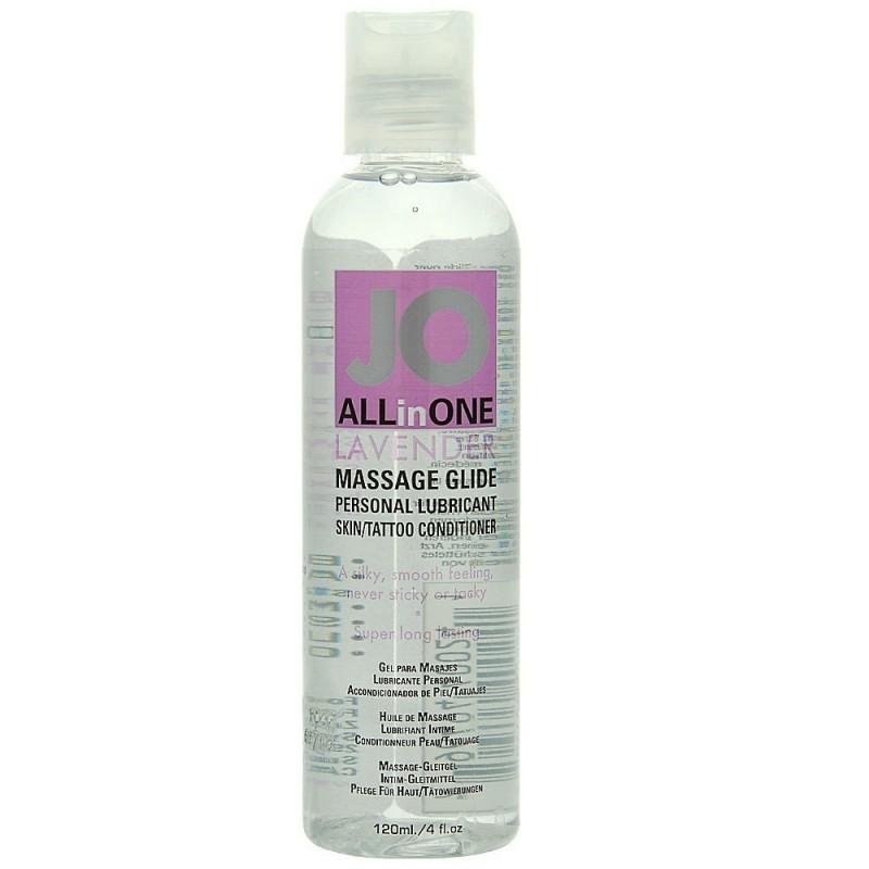 System Jo Massage Oil Lavender 4.5oz