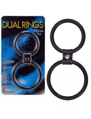 Dual Rings Shaft And Balls Ring