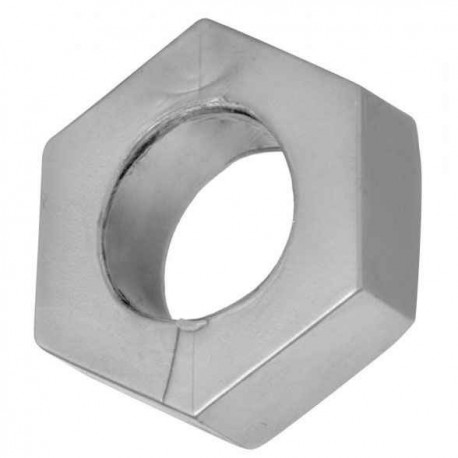 Silver rubber cock ring and ball stretcher