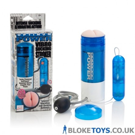 Optimum Power Vibro Sucking Stroker