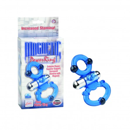 Magnetic Dual Power Cock Ring