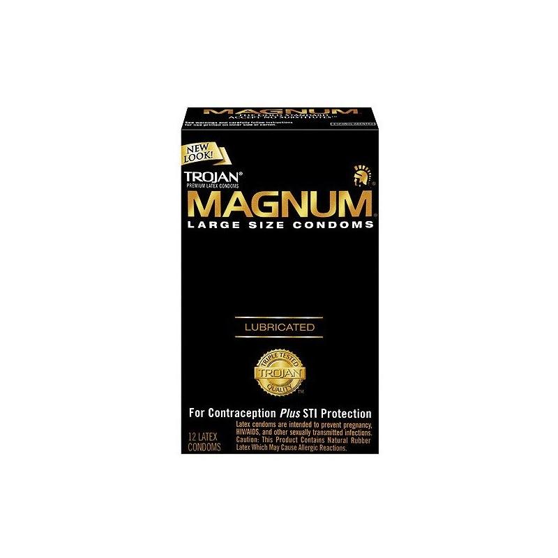 Trojan Magnum Large Condoms
