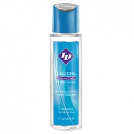 ID Glide is a water based lubricant available in a 4.4 ounce bottle