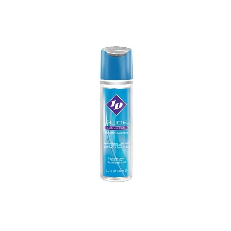 Le lubrifiant personnel ID Glider basé sur Watr est disponible dans une bouteille de 2,2 oz