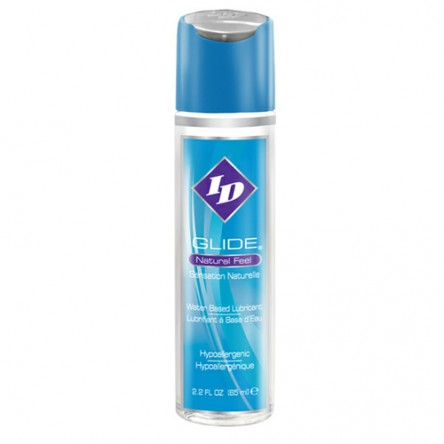 Watr based ID Glide personal lubricant is available in a 2.2oz bottle