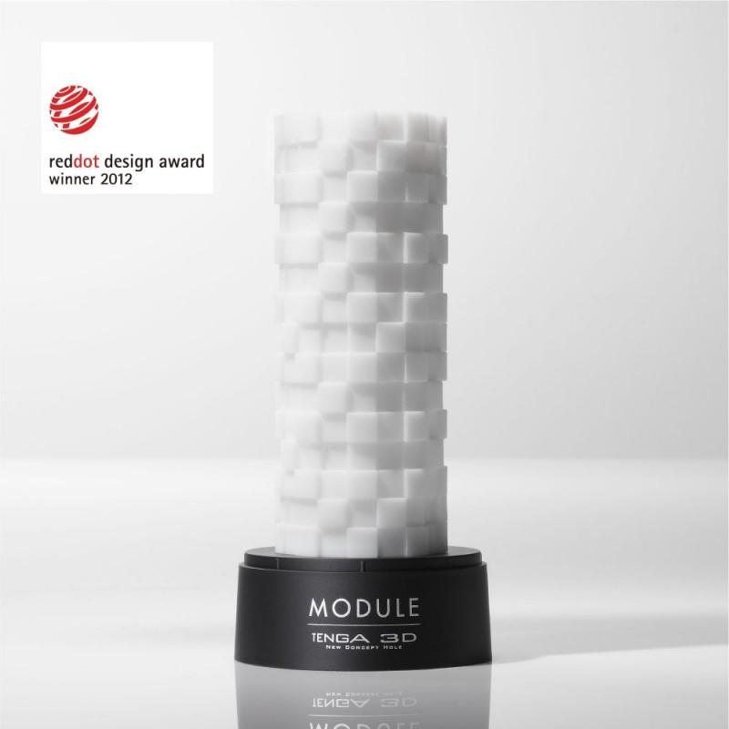 The Tenga 3D Module masturbator is a Red Dot design award winner