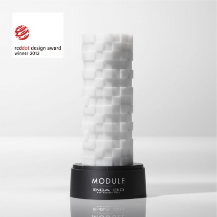 The Tenga 3D Module masturbator is a Red Dot design award winner