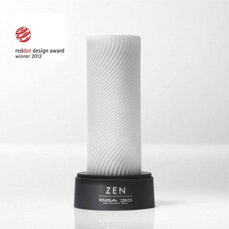 Tenga 3D Zen Masturbator comes with an attractive case for display or storage
