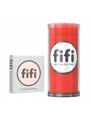Fifi Masturbator Red With 5 Disposable Sleeves