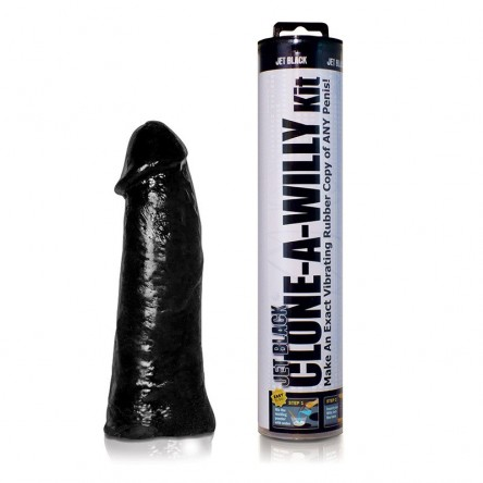Empire Labs Clone A Willy Jet Black Vibrator